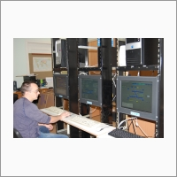 Subway train control dispatching system