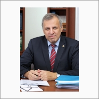 Portrait. Director of Boreskov Institute of Catalysis Academician Valerii Bukhtiyarov