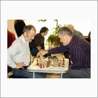 Traditional chess tournament in Boreskov Institute of Catalysis