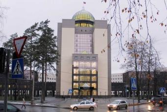 НГУ - башня нового корпуса