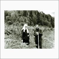 Н.Н. Покровский в научной экспедиции по р. Убе. 1970 год