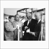 Основатели сибирских химических школ. 1966 год