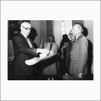 Диплом Болгарской АН. 1987 год