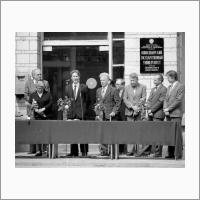 Открытие мемориальной доски. 1981 год
