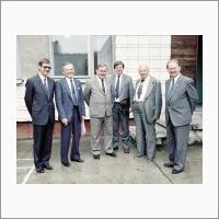 С президентом АН СССР А.П. Александровым. 1985 год