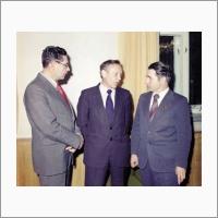 Председатели сибирских отделений трех академий
