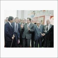 Осмотр выставки достижений СО АН СССР. 1985 год