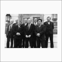 После подписания соглашения. Москва 1992 год