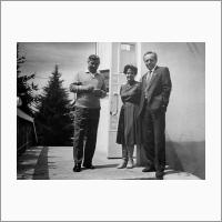 С президентом АН СССР Г.И. Марчуком. 1987 год