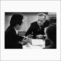С д.г.н. А.К. Тулохоновым. 1994 год