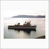 Корабль на Байкале