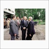 Приезд Б.Н. Ельцина. 1991 год