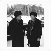 Посещение Н.И. Рыжкова. 1985 год