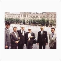 С делегатами Новосибирской области