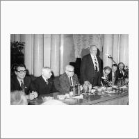 В президиуме, 1984 год