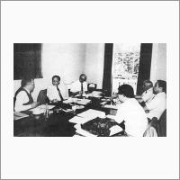Заседание Консультативного комитета. 1984 год