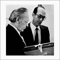 С участником семинара Б.Г. Салтыковым. 1996 год