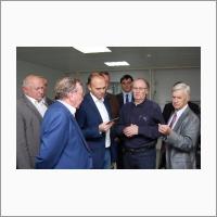 Визит делегации во главе с Директором Департамента региональной промышленной политики Минпромторга РФ А.С.Беспрозванных 12.09.2016