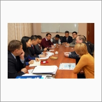 Визит в ИАиЭ СО РАН делегации Департамента науки и технологий Правительства провинции Чжэцзян (Китай) 22.11.2016