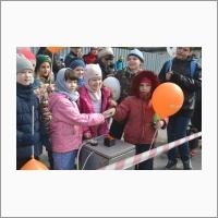 Коллектив юных конструкторов ракет в ожидании пуска (Автор фото – Максимов А.И.)