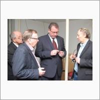 The Deputy Governor of the Novosibirsk region A.K. Sobolev in IAE SB RAS, 28 December 2016