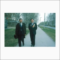 1977 г. Вместе с Д.К. Беляевым