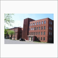 Здание главного корпуса ФГБНУ «Всероссийский научно- исследовательский институт бруцеллеза и туберкулеза животных»