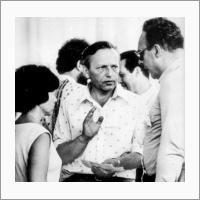 На IV Международной конференции по применению ЭВМ в химии (первая в СССР). Новосибирск, 1978 год