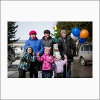 Семья докторов наук Поплавских после успешных пусков ракеты «Космический сокол» (Автор фото – Кратова Ю.В.).