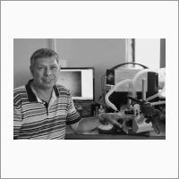 Шавлов А.В., д.ф.-м.н., ведущий научный сотрудник Института криосферы Земли СО РАН, фото  А.А. Мельниковой