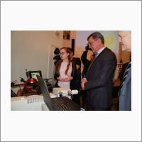 Демонстрация разработок ИНГГ полномочному представителю Президента РФ в СФО С.И. Меняйло (февраль 2017)