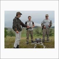 Беспилотный аэрогеофизический комплекс для геофизической разведки (разработка ИНГГ СО РАН)