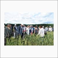 Участники международной научно-практической конференции «Селекция сельскохозяйственных растений на устойчивость к абиотическим и биотическим стрессорам», г. Омск 19-21 июля 2016 г.
