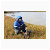 Учёные ИНГГ исследуют Ямальский кратер - Оленченко