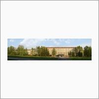 Панорама главного корпуса ИНГГ СО РАН. Фото из архива ИНГГ СО РАН.
