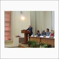 Совместное заседание членов Президиума РАН и Правительства Республики Саха (Якутия) в Конференц-зале ЯНЦ СО РАН в июне 2015 г.