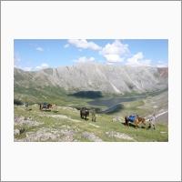Изучение высокогорных озер Восточной Сибири, ЛИН СО РАН