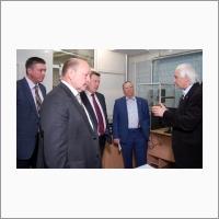 Mayor of Novosibirsk A.E. Lokot in IAE SB RAS, 11 May 2016