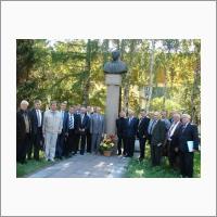 Участники международной научной конференции, посвященной 100-летию со дня рождения академика И.И. Синягина (р.п. Краснообск, 2006 г.)