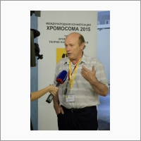 Academician I.F. Zhimulev, conference Chromosome 2015