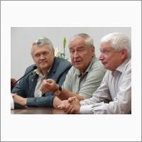 Академики Асеев Донченко и Власов
