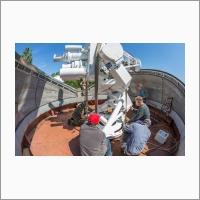 Байкальская астрофизическая обсерватория. Монтаж Синоптического солнечного телескопа СОЛСИТ1.