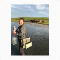 Дребот Валерия Витальевна – младший научный сотрудник лаборатории гидрогеохимии и геоэкологии Томского филиала ИНГГ СО РАН