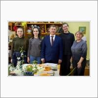 Мэр Новосибирска Анатолий Локоть в гостях у Лаборатории экологического воспитания ФИЦ ИЦиГ СО РАН