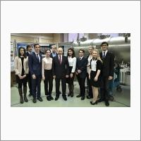 Со студентами Новосибирского государственного университета и учащимися Специализированного учебно-научного центра НГУ.