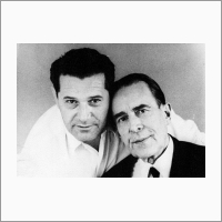Слева направо: И.Ф. Клисторин и К.Б. Карандеев. Источник: Архив ИАиЭ СО РАН.