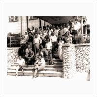 Симпозиум «VMEbus в физике и технике». В перерыве между заседаниями. 1991 г. Источник: Архив ИАиЭ СО РАН.