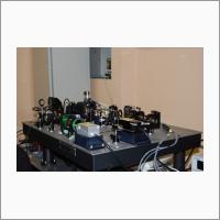 Макет скоростного многоканального конфокального микроскопа. Источник: Архив ИАиЭ СО РАН.