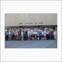Участники III Международной конференции «Автоматизация, управление и информационные технологии-2010» (ACIT-2010). Источник: Архив ИАиЭ СО РАН.