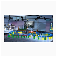 Multifunctional interactive system for training and presentations on the basis of the integrated virtual reality technology